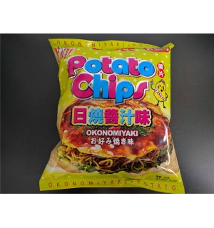 中卡樂B日燒醬汁薯片