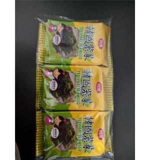 四洲三個庒韓國紫菜